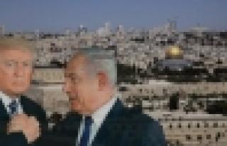 Siyonist Finosu TRUMP Kudüsü İsrail'e verdim...