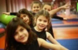 Spor Parkları Jimnastik derslerine yoğun ilgi