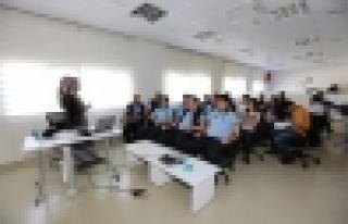Zabıta personeli iş sağlığı ve güvenliği eğitimi...