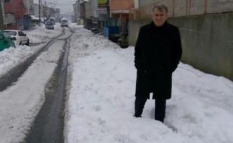 Güvercintepe'de Kar Yağışı Bitti Ama Çilesi Sürüyor