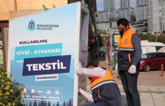Başakşehir'de Tekstil Atıkları Sosyal Yardıma Dönüşüyor