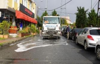 Başakşehir'in Her Noktası Dezenfekte Ediliyor