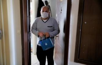 Başakşehir Belediyesi COVİD Hastalarını Yalnız Bırakmıyor