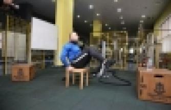 Başakşehirliler Evde Kalarak Spor Yapıyor