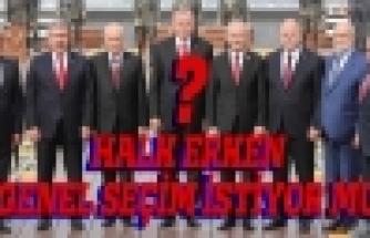 İstanbul'da Seçmen'e sorduk  % 60' Erken Genel Seçim İstiyor ...