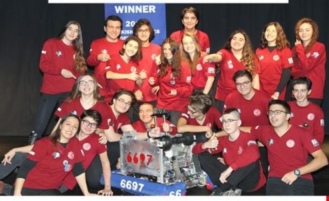 2017 Robotik Yarışması Türkiye Şampiyonu İstanbul Avrupa Sınav Koleji