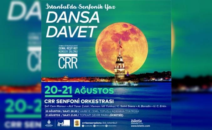 """CRR Senfoni Orkestrası'ndan """"Dansa Davet"""""""