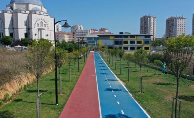 Yeşilin Şehri Başakşehir'e Yeni Bir Yeşil Alan Daha