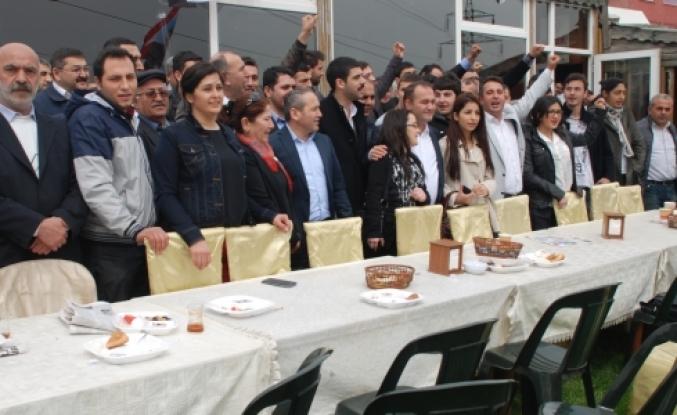 CHP'li gençler'e yeni katılım oldu