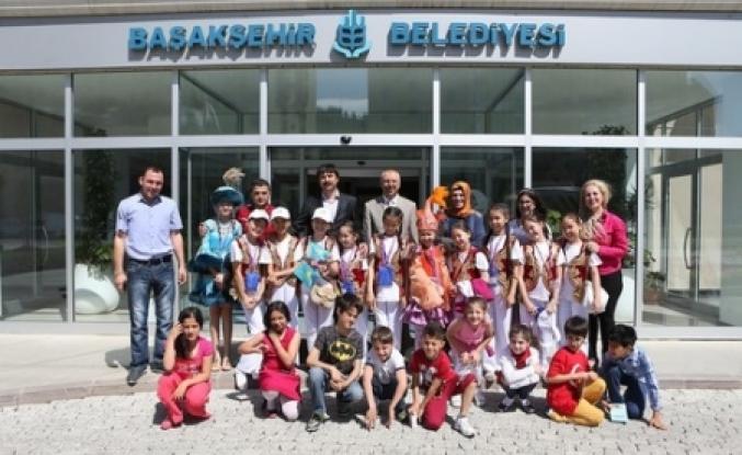 Kazak Öğrenciler Başakşehir Belediyesi'ndeydi