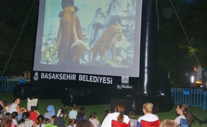 Sinama Keyfi Bahçeşehire Gölet 'e Taşındı