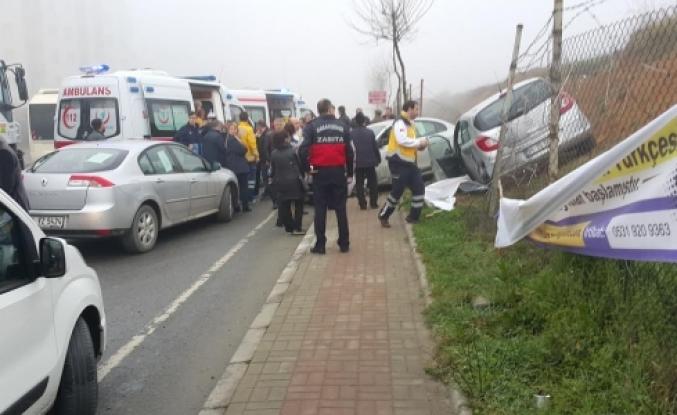 Yine Onurkent yine ucuz atlatılan bir kaza