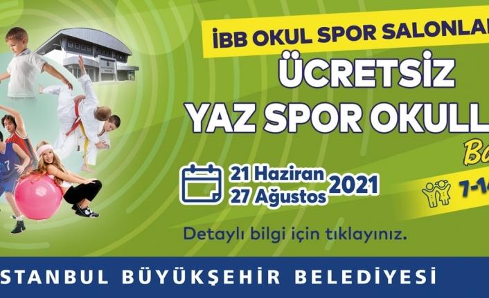 İBB'nin Ücretsiz Yaz Spor Okulları Başlıyor