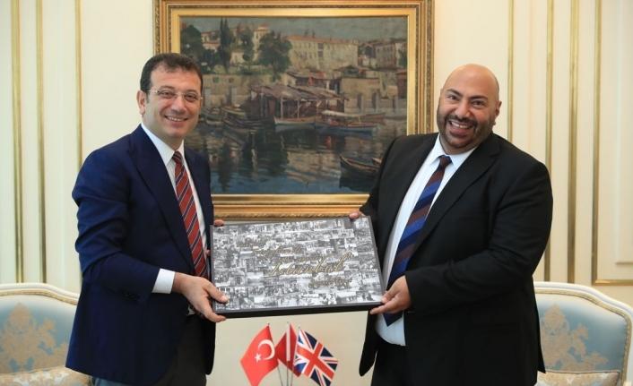 KKTC kökenli Başkonsolos'tan İmamoğlu'na nezaket ziyareti