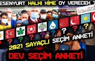 HDP'NİN İSTANBUL'DA EN ÇOK OY ALDIĞI ESENYURT SEÇMEN'İ BU PAZAR SEÇİM OLSA HANGİ PARTİYE OY VERECEK..
