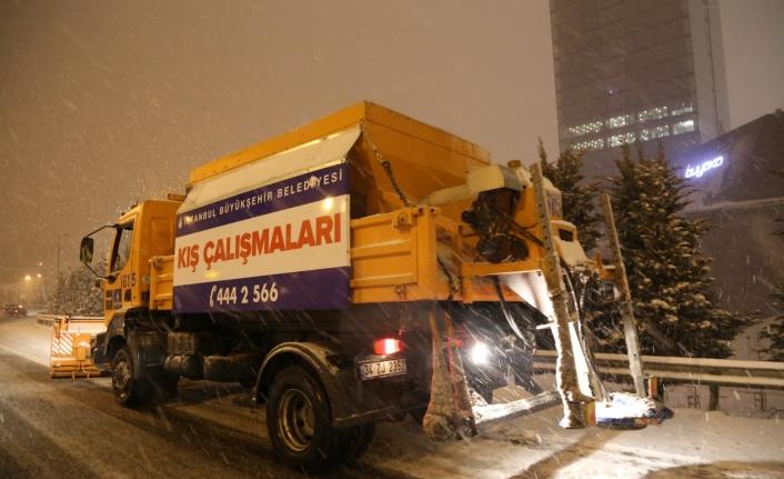 Kar Kalınlığı 30 Cm'e Kadar Çıktı