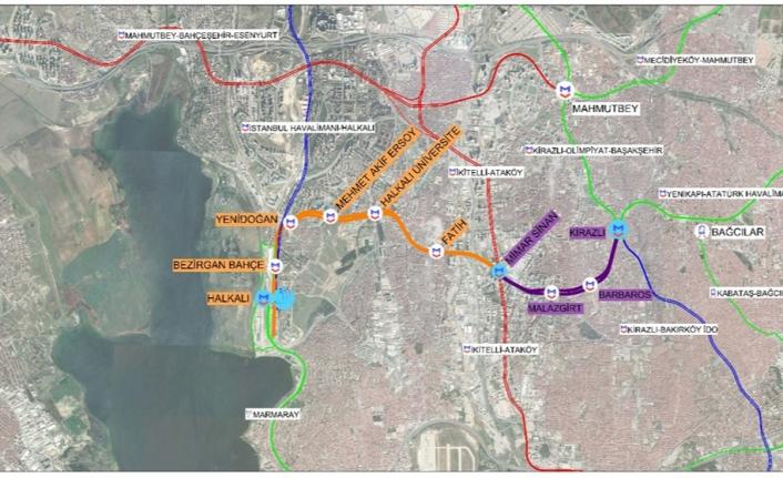 Kirazlı - Halkalı Metro İnşaatını, Kılıçdaroğlu Yeniden Başlatıyor