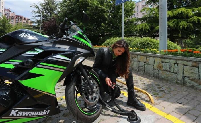 Türkiye'nin İlk Kilitli Motosiklet Park Alanları Başakşehir'de Açıldı