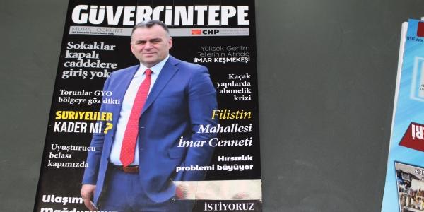 Murat Özkurt : Mahallesinin sorunları için dergi çıkardı
