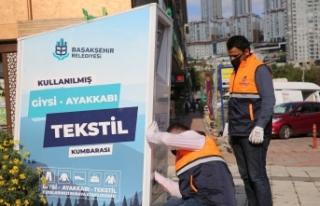 Başakşehir'de Tekstil Atıkları Sosyal Yardıma...