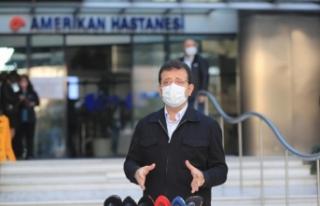 """Taburcu Olan İmamoğlu'ndan Deprem Mesajı: """"Karantina..."""