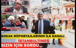 İstanbul Times TV 2021 Yılında da Sokak Röportajlarına...