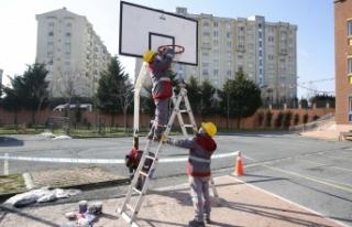 Başakşehir'de Okullar Yüz Yüze Eğitime Hazır