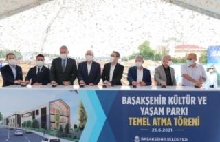 Başakşehir Kültür Ve Yaşam Parkı'nın Temeli...