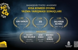 Başakşehir'de Tiyatro Yarışmasının Kazananları...
