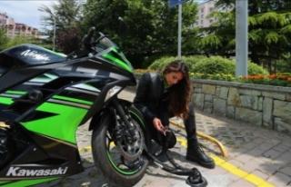 Türkiye'nin İlk Kilitli Motosiklet Park Alanları...