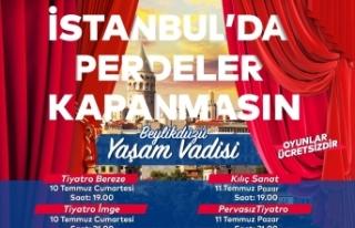 İstanbul'un Dört Bir Yanında Alkış Sesleri...