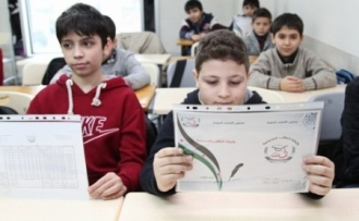 Suriye Okulu'nda karne heyecanı