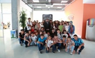 Başakşehir Living Lab öğrencilere anlatıldı