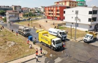 Başakşehir'de Cadde Ve Sokaklar Pırıl Pırıl