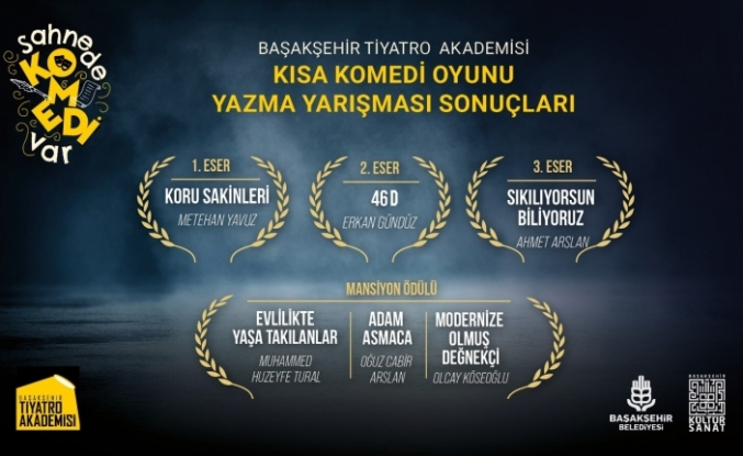 Başakşehir'de Tiyatro Yarışmasının Kazananları Belli Oldu
