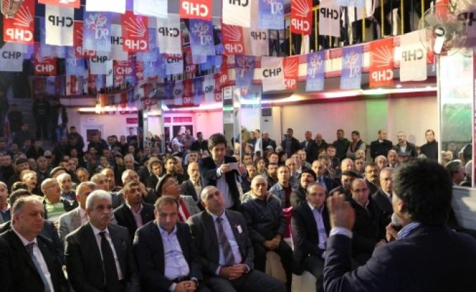 Başakşehir CHP halkın içinde