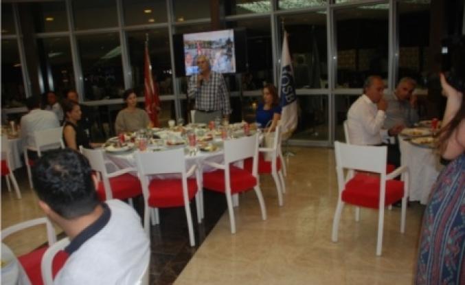 İOSB basın mensupları ve çalışanlarını iftarda bir araya getirdi