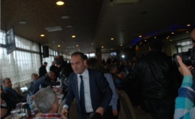 Tokatlılar'dan tek adayları Karabat'a  destek